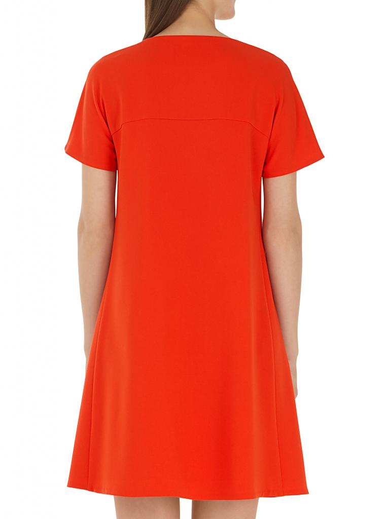 Marc cain kleid rot orange
