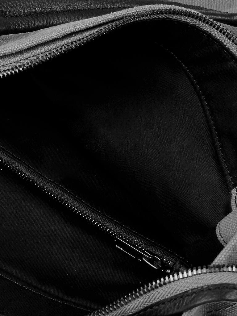 marc o 39 polo tasche mit lederdetails shopper m grau. Black Bedroom Furniture Sets. Home Design Ideas