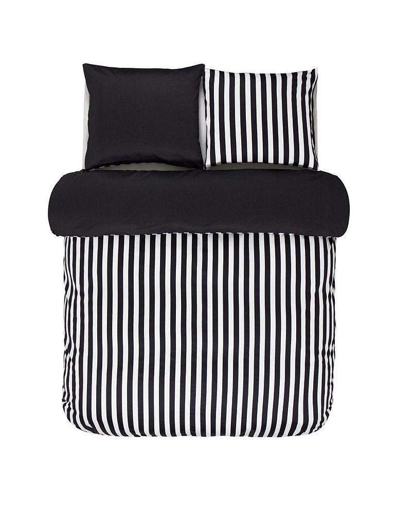 marc o 39 polo home satin bettw sche classic stripe 70x90cm 140x200cm schwarz. Black Bedroom Furniture Sets. Home Design Ideas