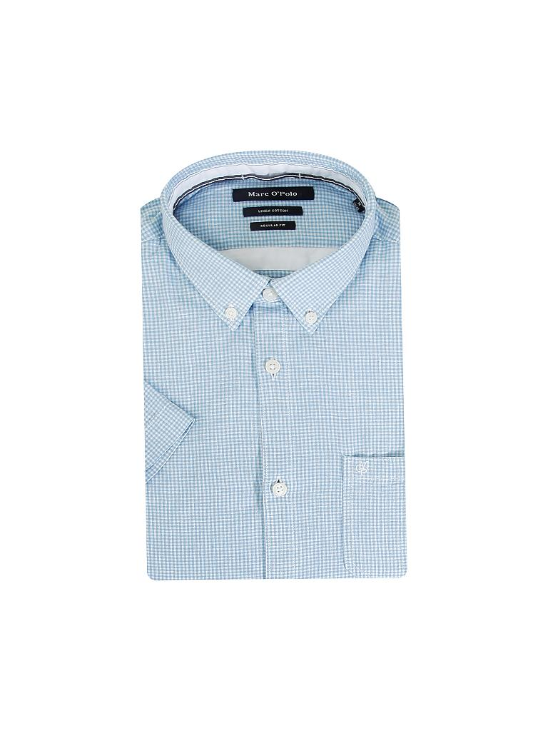 MARC O'POLO | Leinen-Hemd Regular-Fit | blau
