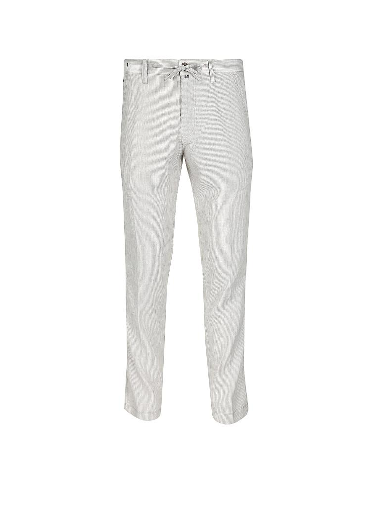 "MARC O'POLO | Leinenhose Tapered-Fit ""Stig"" 