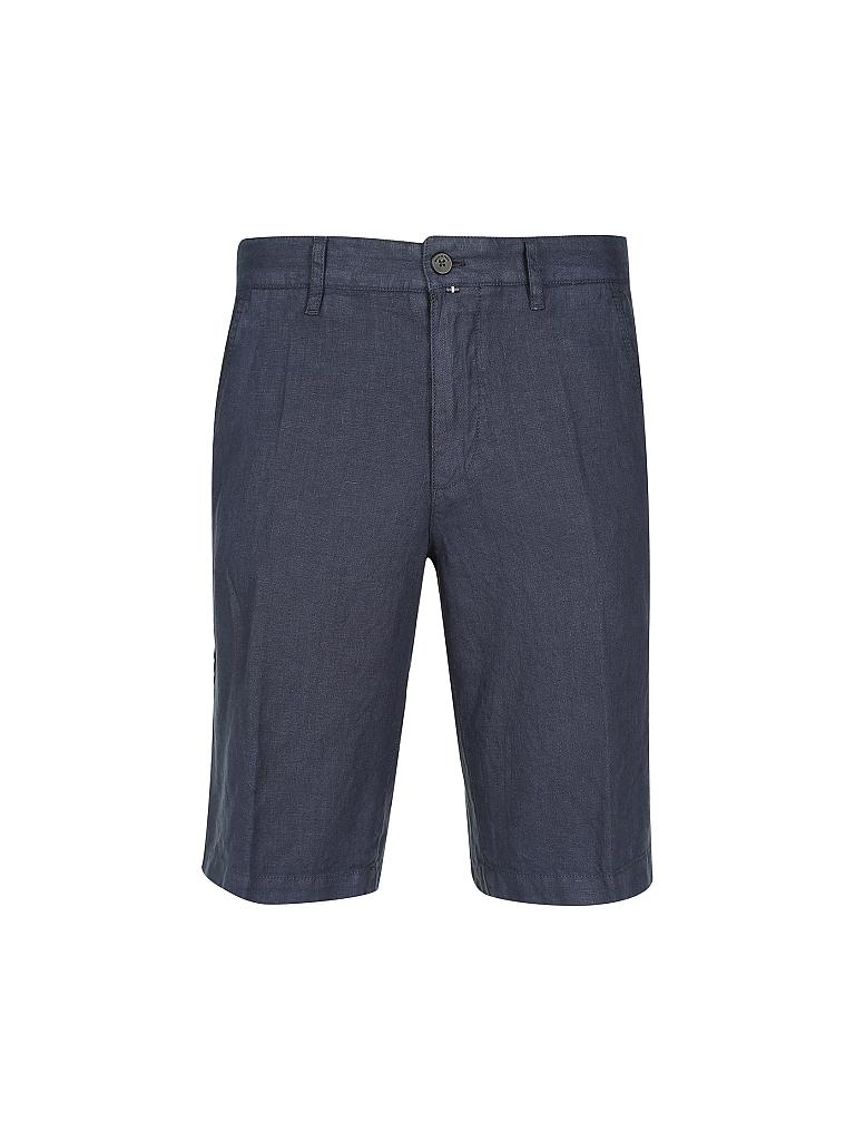 MARC O'POLO | Leinenshort Regular-Fit | blau