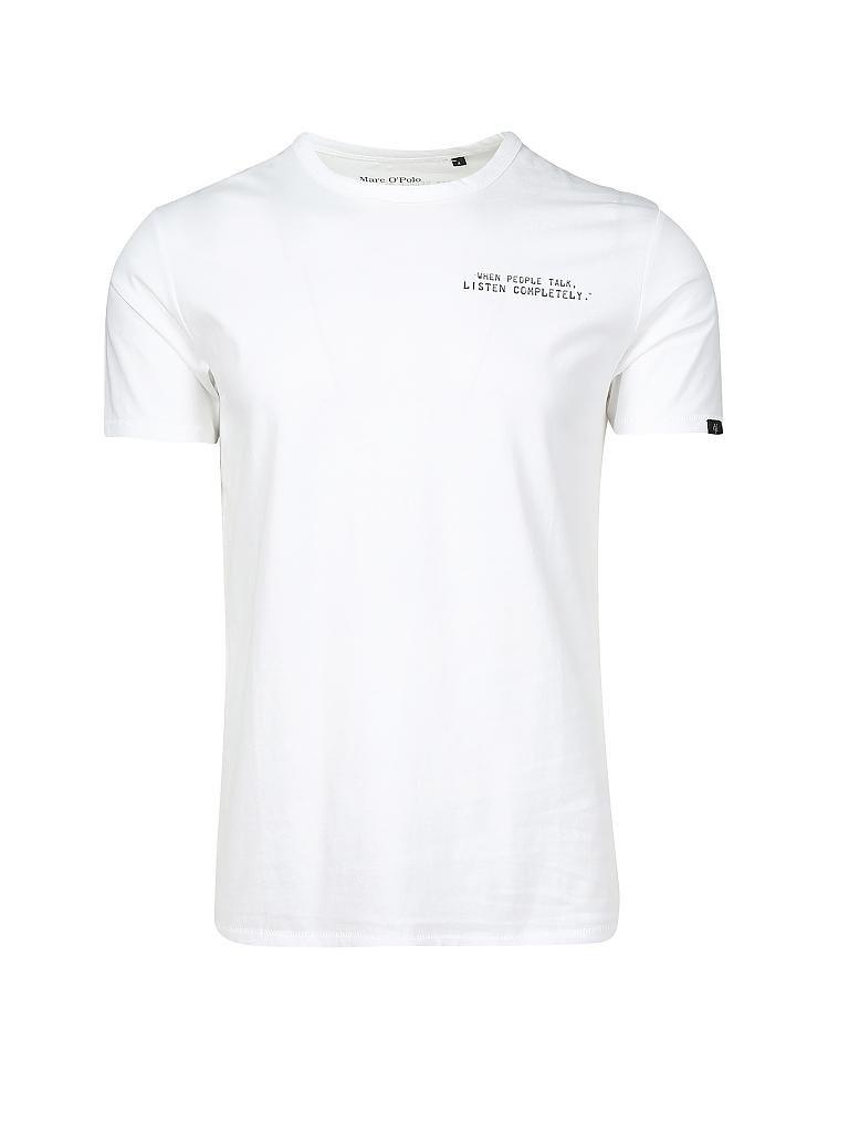 d41449d3e0ef20 MARC O'POLO | T-Shirt | weiß