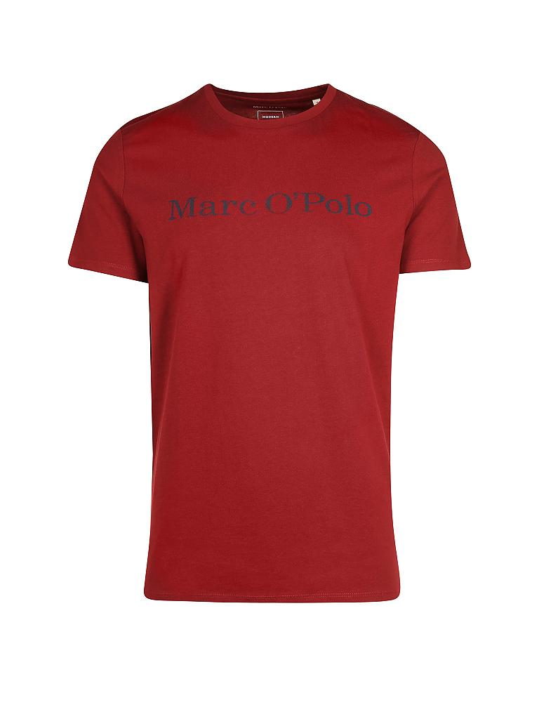 MARC O'POLO | T-Shirt Regular-Fit | rot