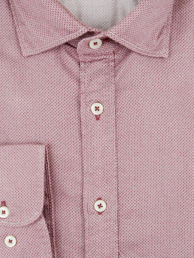 MARC O'POLO | Hemd Shaped-Fit  | rot