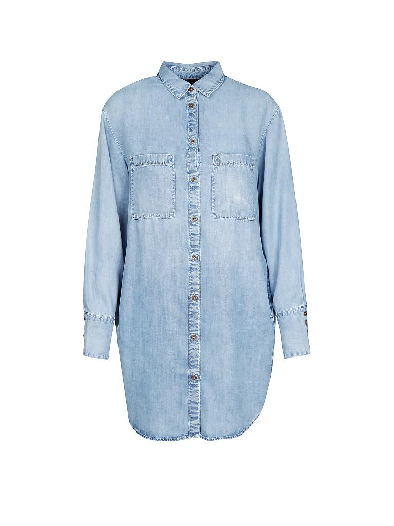marc o 39 polo kleid in jeansoptik blau xs. Black Bedroom Furniture Sets. Home Design Ideas