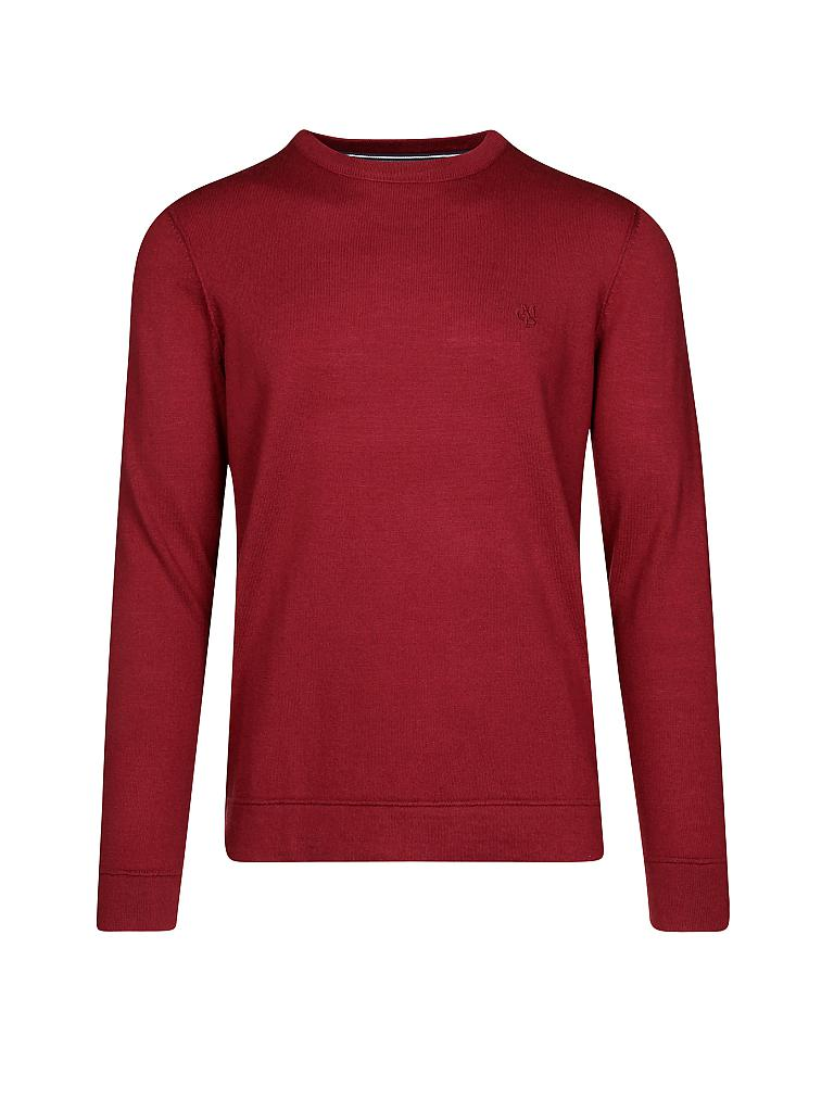 MARC O'POLO | Pullover  | rot