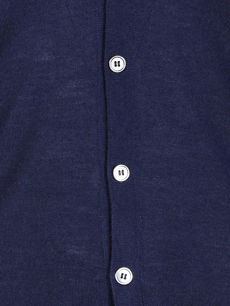 MARC O'POLO | Weste Shaped-Fit | blau