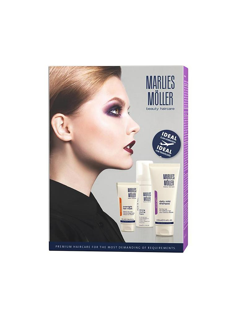 MARLIES MÖLLER | Geschenkset - Daily Mid Shampoo Set 100ml/50ml/30ml | transparent