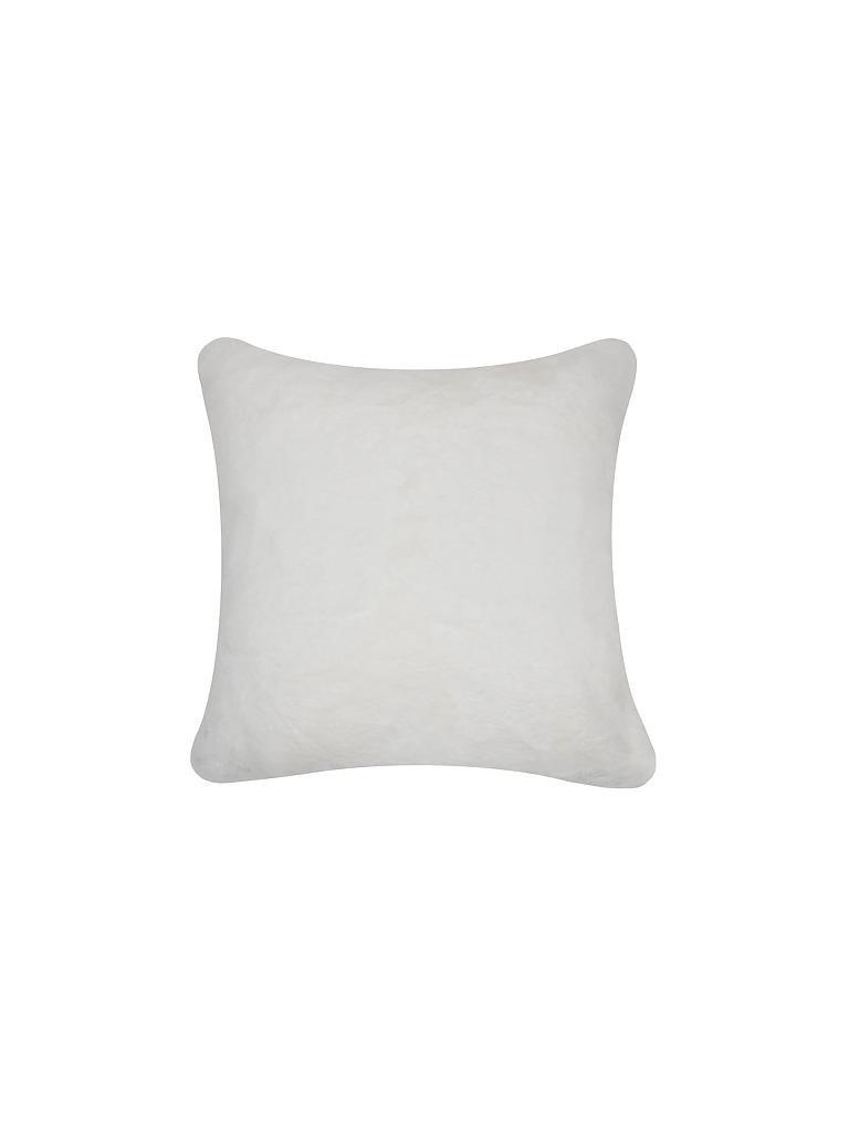 mars more kissen in felloptik 45x45cm wei. Black Bedroom Furniture Sets. Home Design Ideas