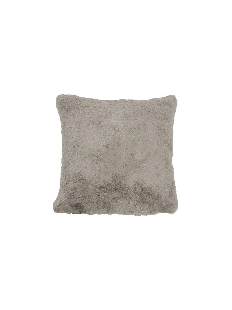 mars more kissen in felloptik 45x45cm grau. Black Bedroom Furniture Sets. Home Design Ideas
