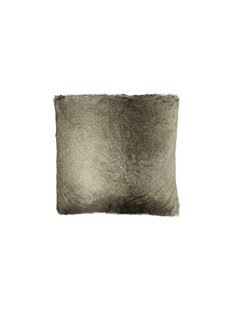 mars more kissen in felloptik 45x45cm braun. Black Bedroom Furniture Sets. Home Design Ideas