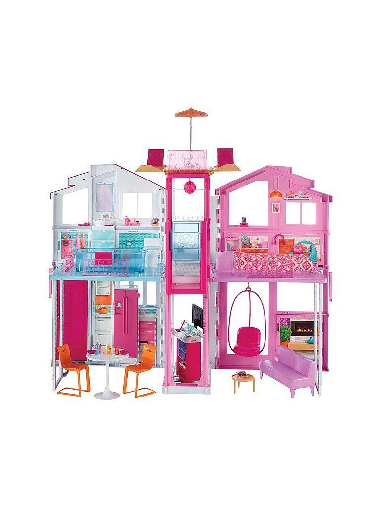 MATTEL Barbie 3 Etagen Stadthaus
