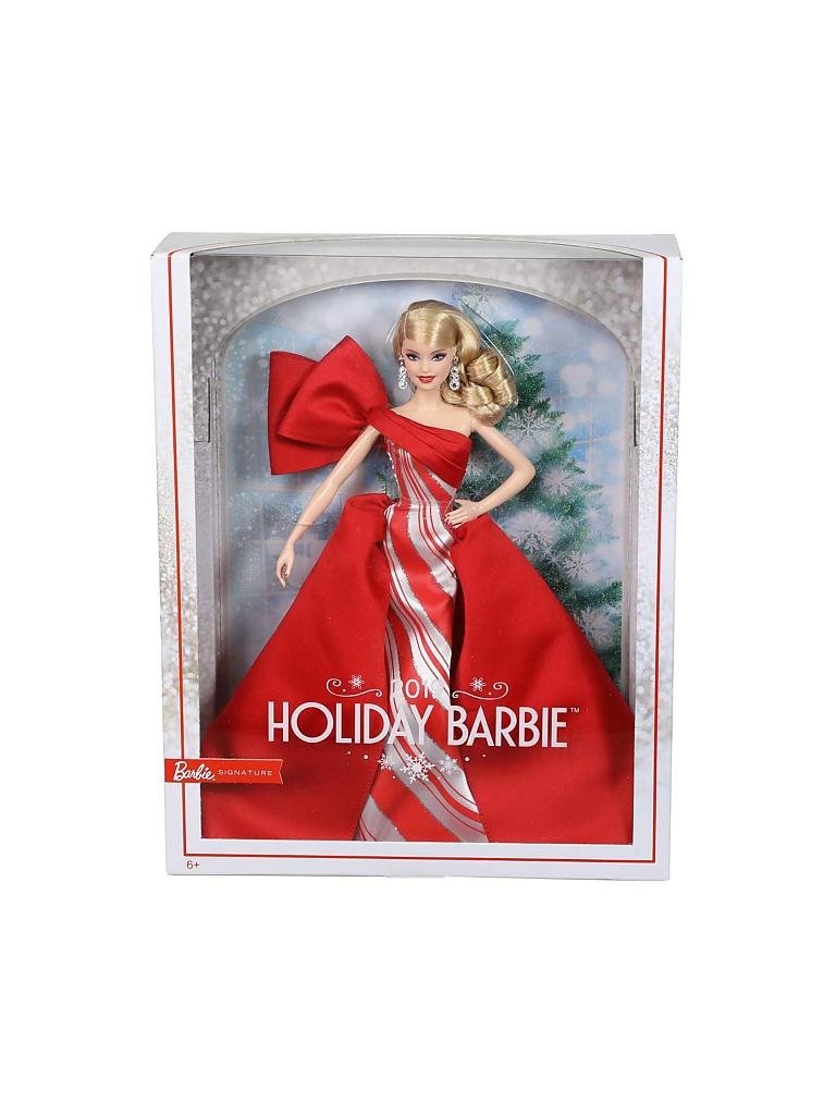"MATTEL | 2019 Holiday Barbie™ Doll ""Collector Edition"" FXF01 