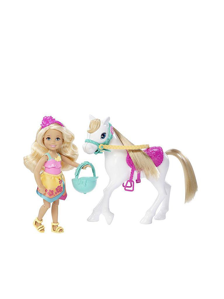 MATTEL | Barbie - Chelsea und Pony | transparent