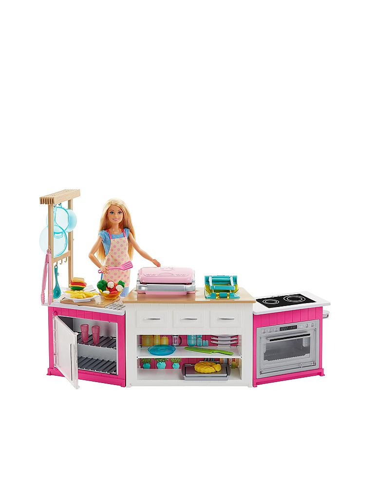MATTEL Barbie - Deluxe Küche und Puppe