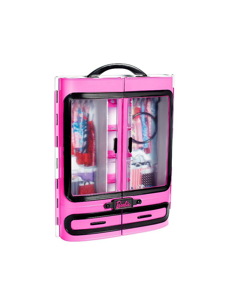 MATTEL | Barbie - Kleiderschrank | transparent