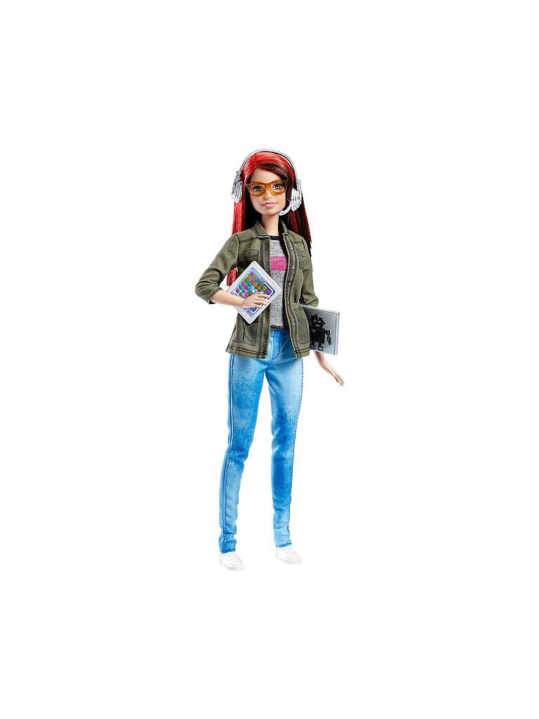 MATTEL | Barbie - Spieleentwicklerin | transparent