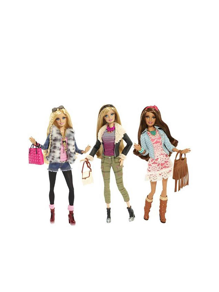 MATTEL | Barbie Deluxe-Moden Fashionistas  | transparent