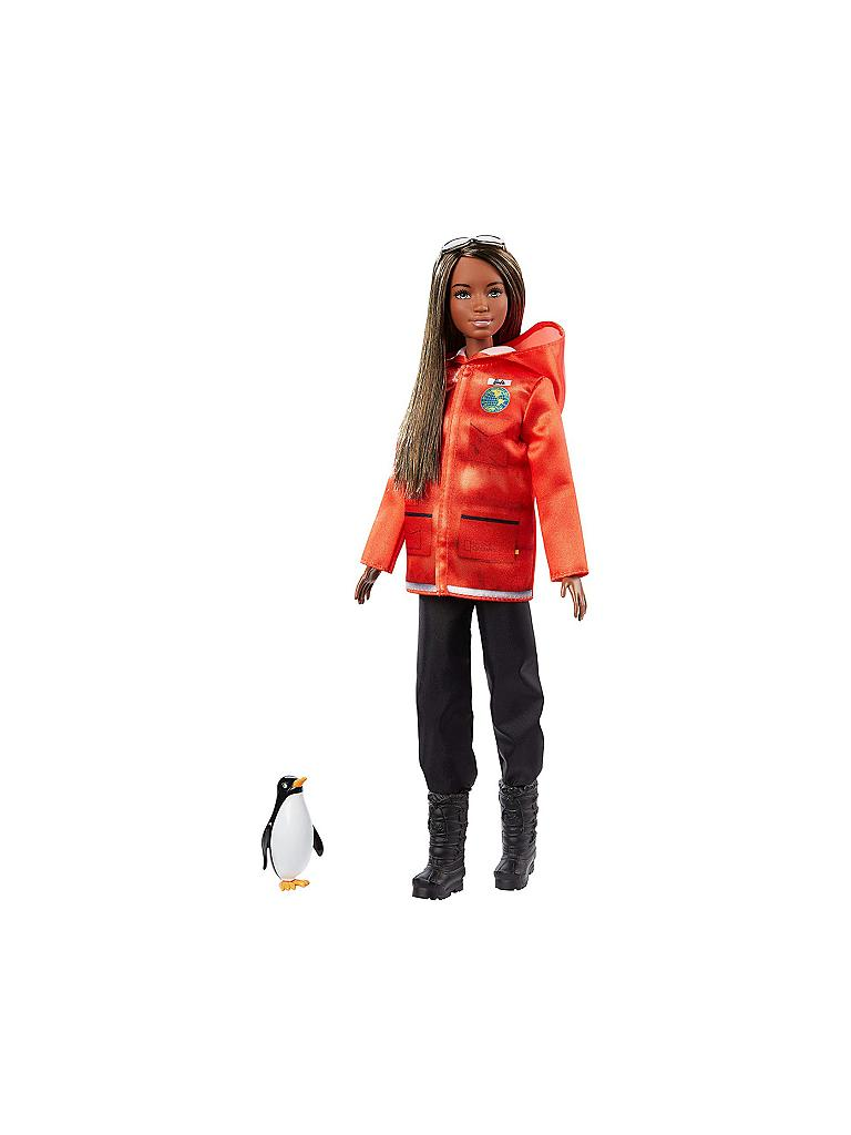 MATTEL | Barbie Polar- und Meeresbiologin Puppe | transparent