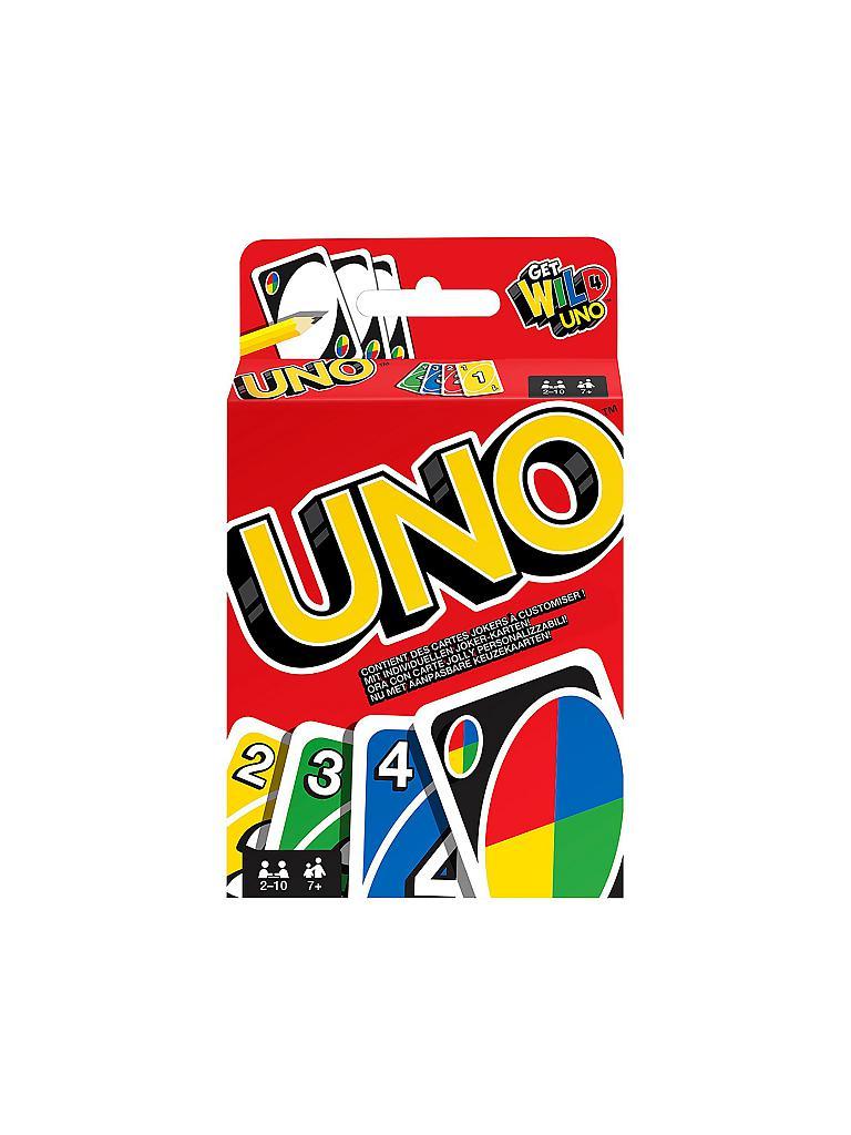 Mattel Uno Kartenspiel Transparent