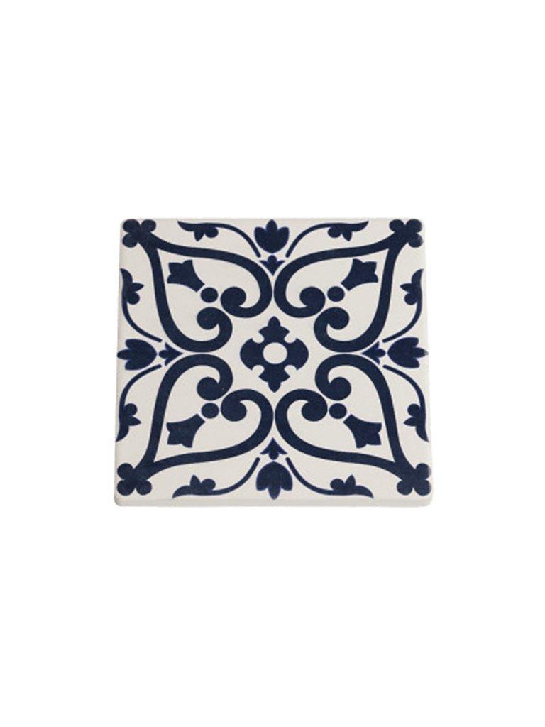 MAXWELL & WILLIAMS Keramik-Untersetzer Medina 9,5x9,5cm blau