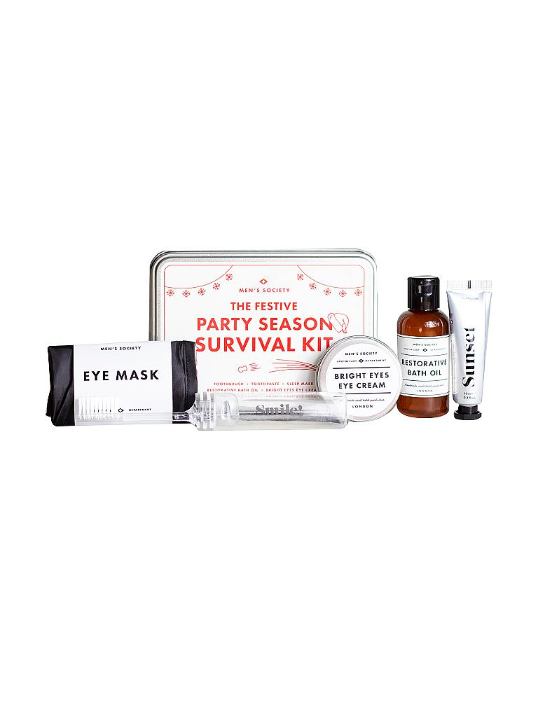 MEN'S SOCIETY | Party Season Survival Kit | silber