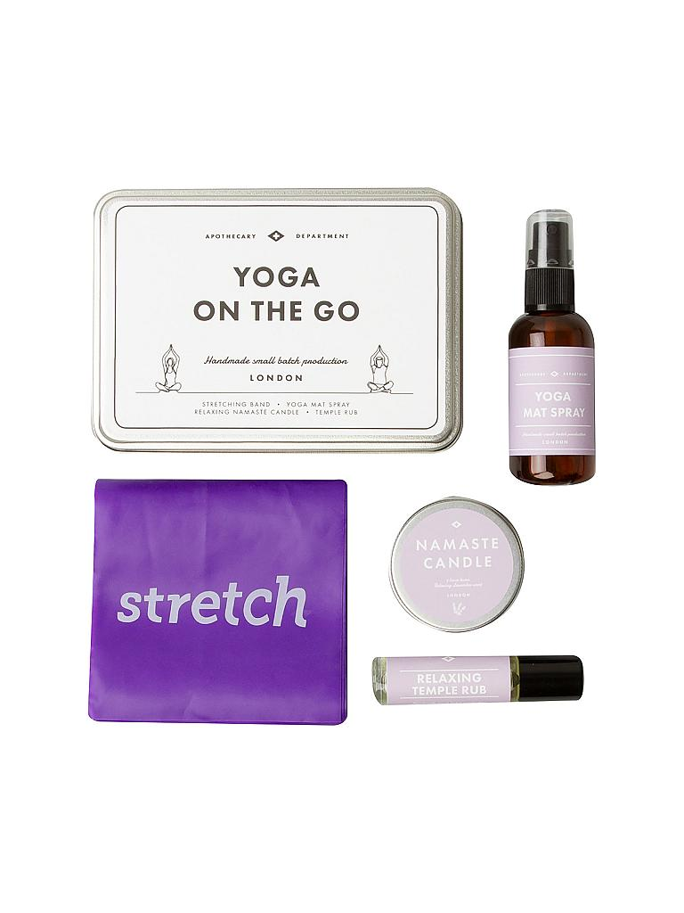 MEN'S SOCIETY | Yoga on the Go Kit | silber