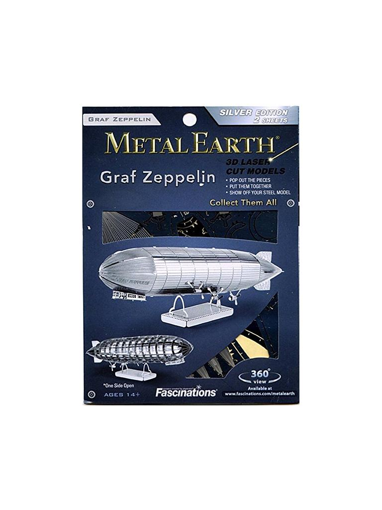 METAL EARTH | 3D Metallbausatz - Graf Zeppelin | transparent