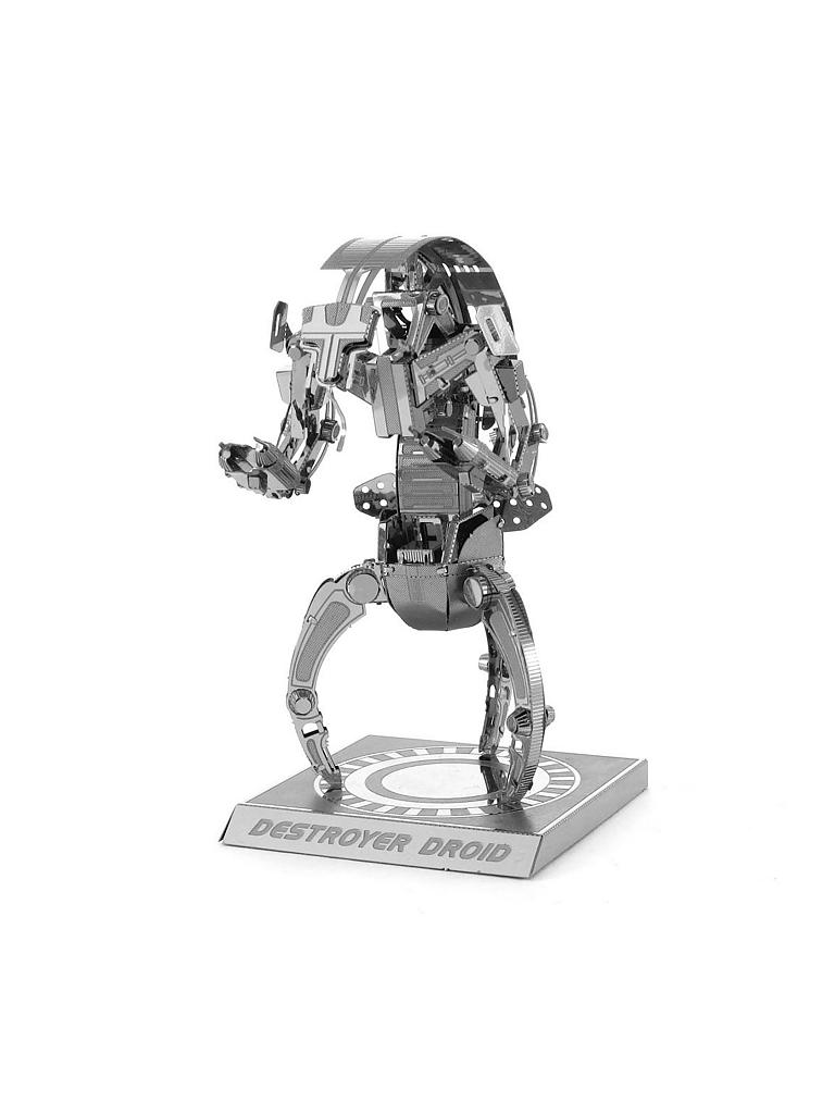 METAL EARTH | 3D Metallbausatz - Star Wars Destroyer Droid | transparent