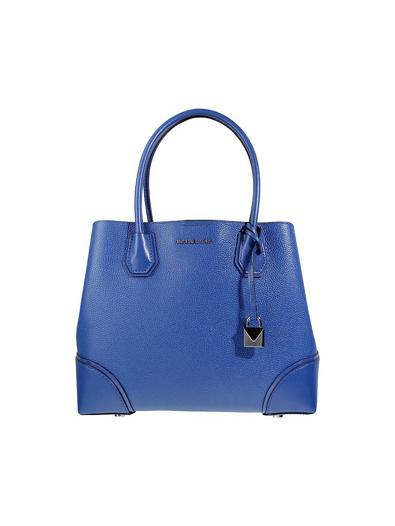MICHAEL KORS Ledertasche - Shopper Annie blau