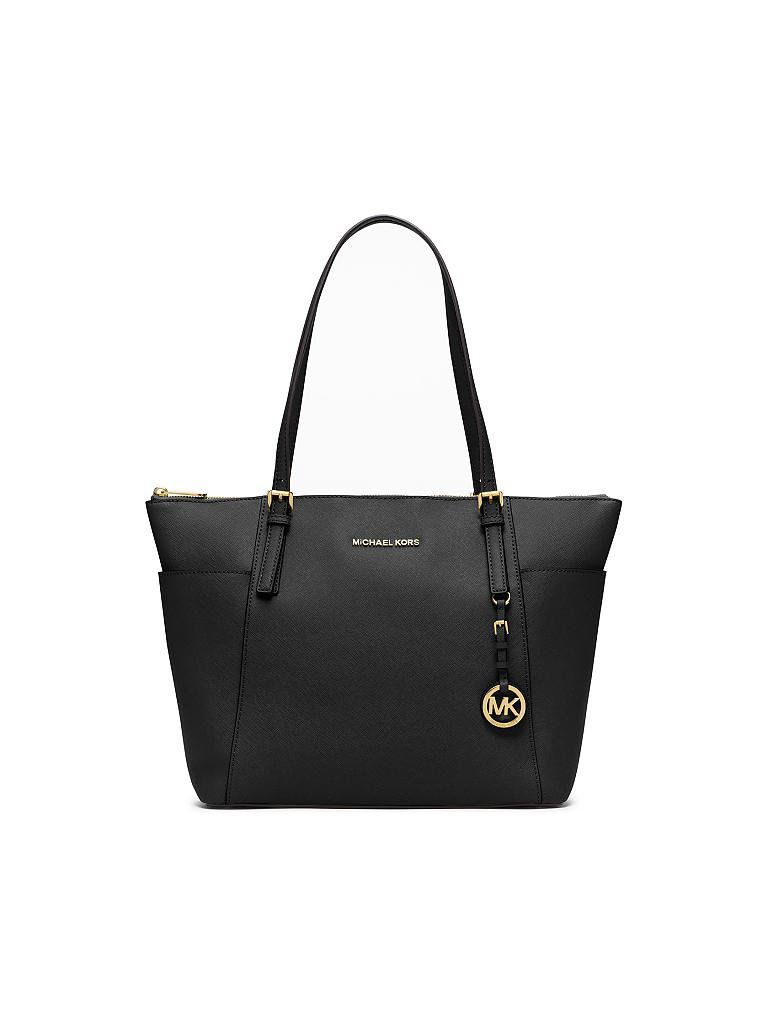 "MICHAEL KORS | Ledertasche ""Jet Set Item"" 
