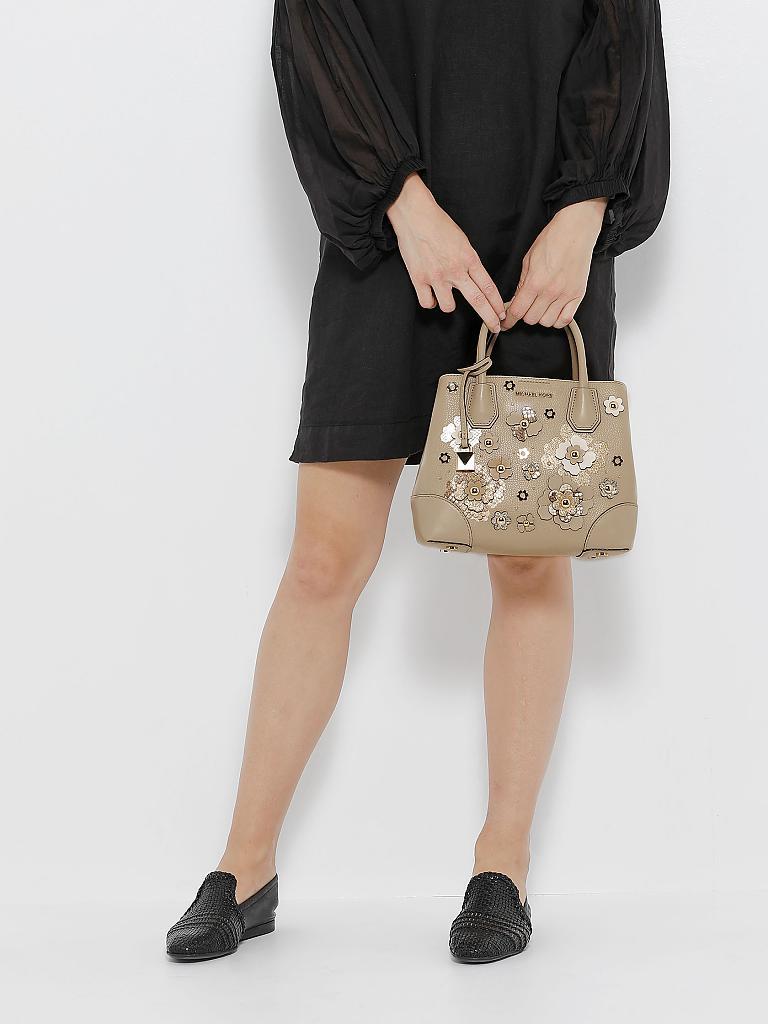 michael kors ledertasche handtasche mercer beige. Black Bedroom Furniture Sets. Home Design Ideas