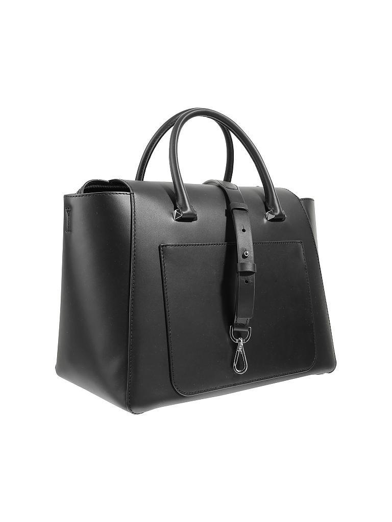 michael kors ledertasche handtasche nolita schwarz. Black Bedroom Furniture Sets. Home Design Ideas