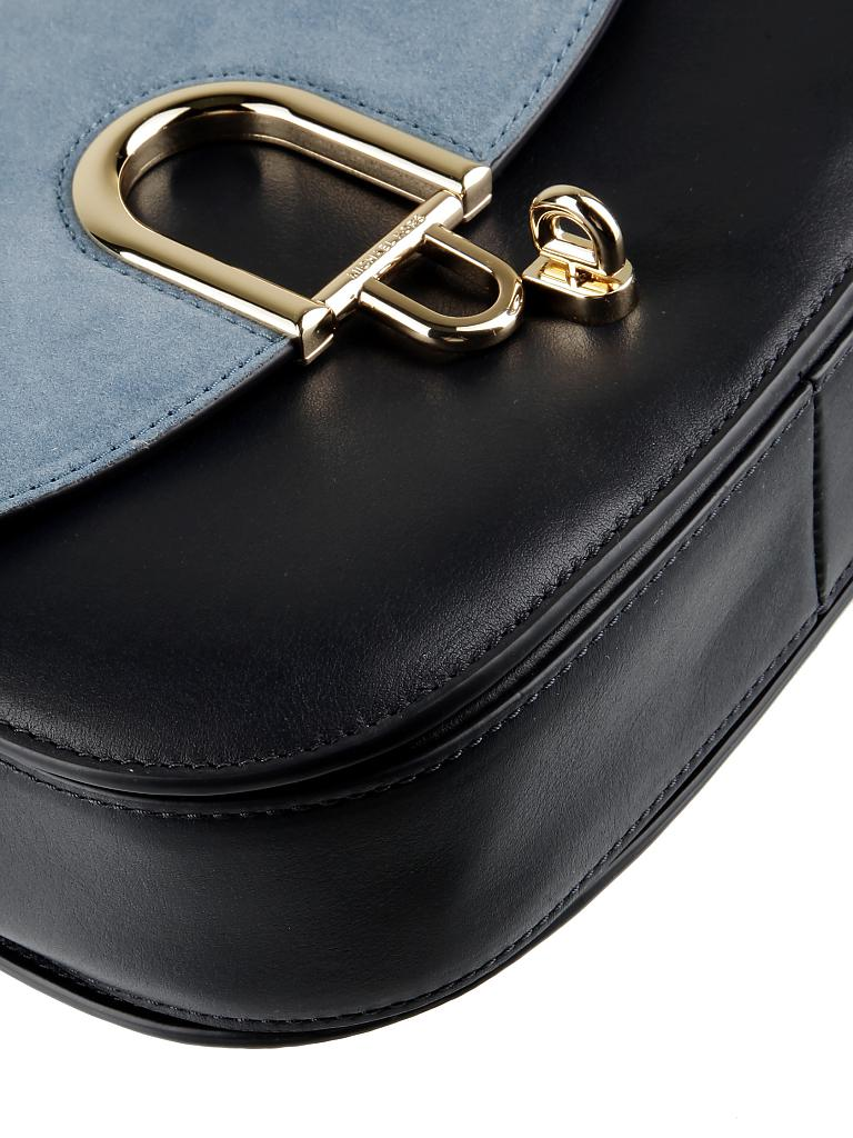 michael kors ledertasche henkeltasche mercer blau. Black Bedroom Furniture Sets. Home Design Ideas