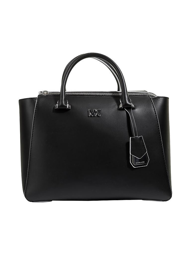 michael kors ledertasche henkeltasche nolita schwarz. Black Bedroom Furniture Sets. Home Design Ideas