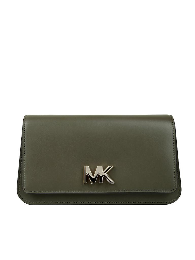 michael kors ledertasche schultertasche mott olive. Black Bedroom Furniture Sets. Home Design Ideas