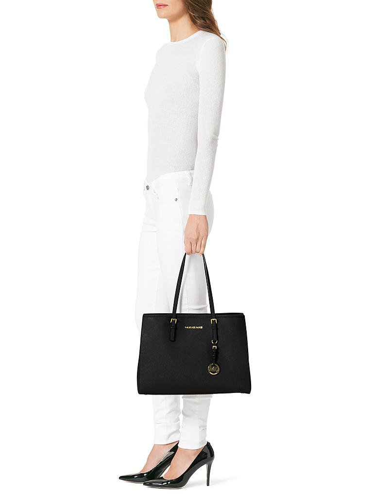"MICHAEL KORS | Ledertasche - Shopper ""Jet Set Travel"" 