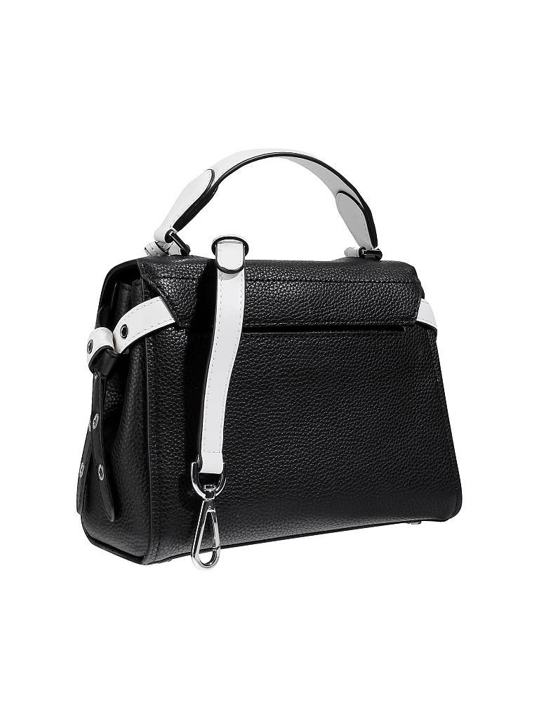 michael kors ledrtasche handtasche bristol schwarz. Black Bedroom Furniture Sets. Home Design Ideas