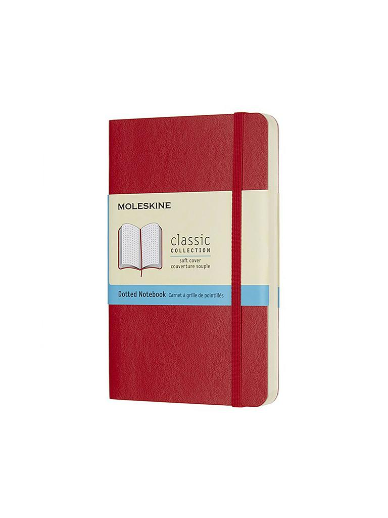 MOLESKIN | Notizbuch - Classic Soft Pocket Dotted Red | rot