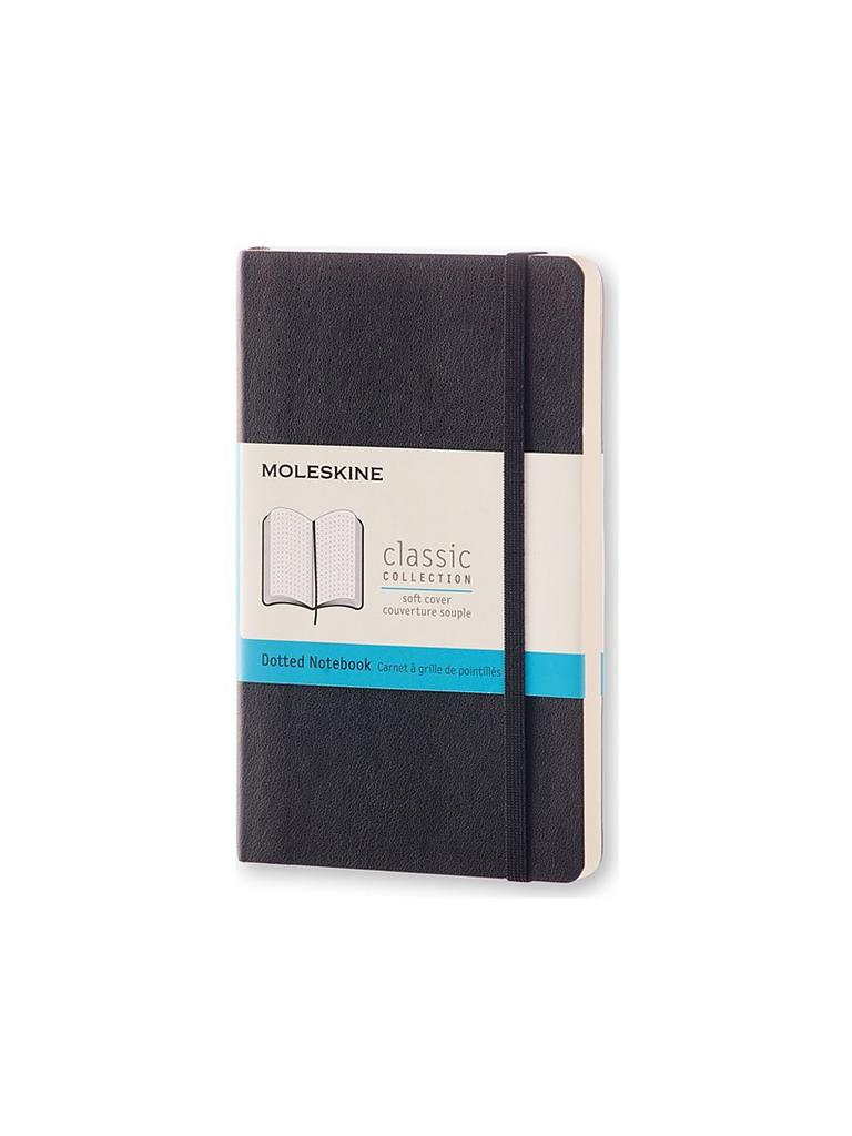 MOLESKIN | Notizbuch - Classic Soft Pocket Dotted | schwarz