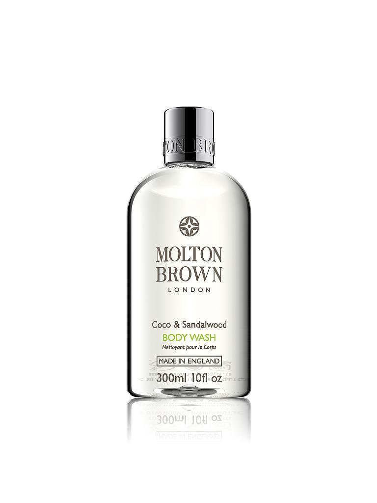 MOLTON BROWN | Coco & Sandalwood Body Wash 300ml | transparent