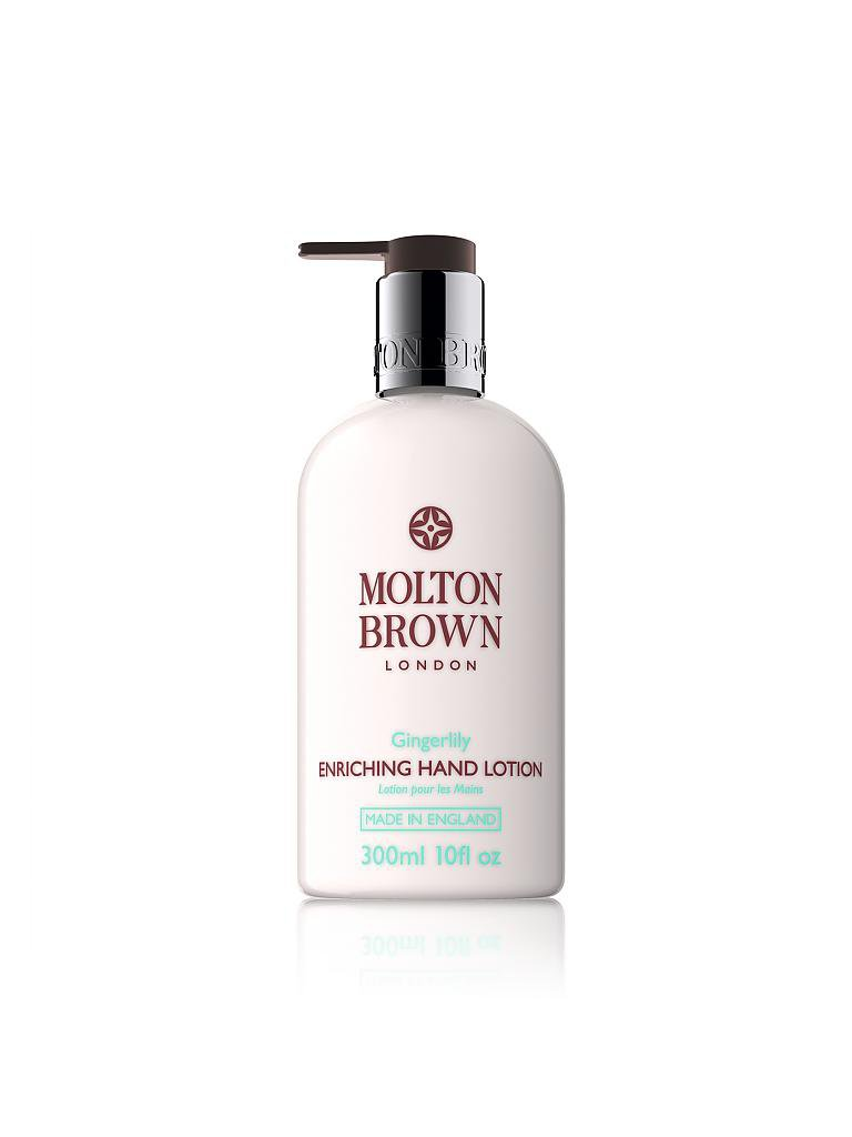 MOLTON BROWN | Gingerlily Hand Lotion 300ml | transparent