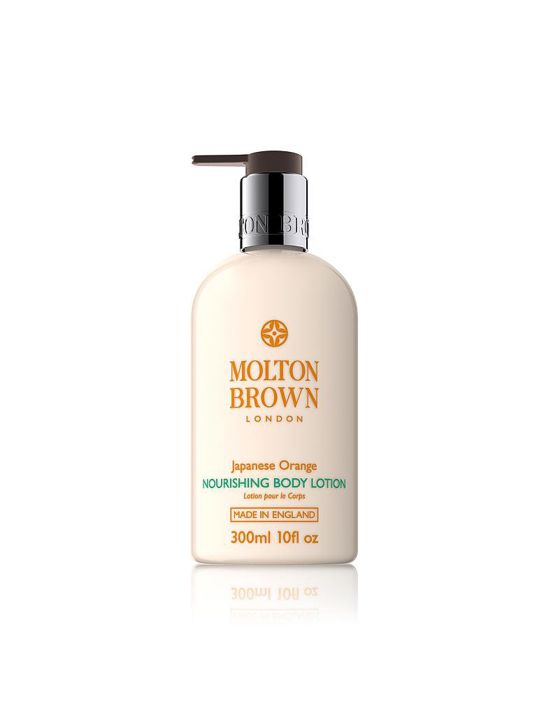 MOLTON BROWN | Japanese Orange Body Lotion 300ml | transparent
