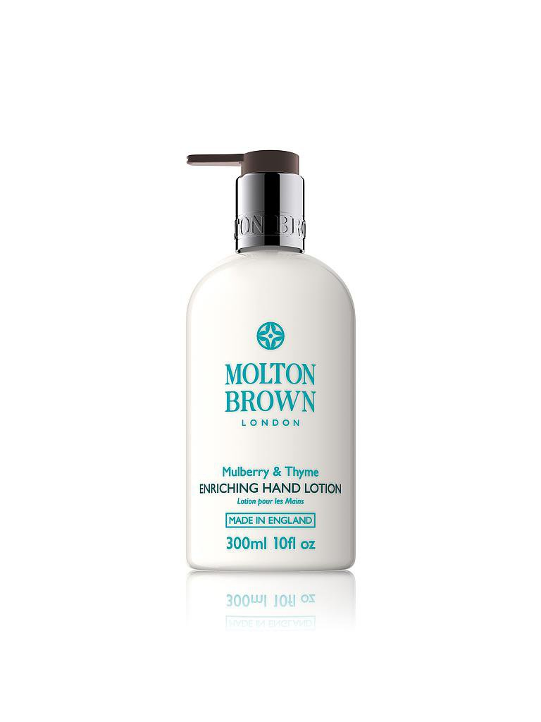 MOLTON BROWN | Mulberry & Thyme Hand Lotion 300ml | transparent