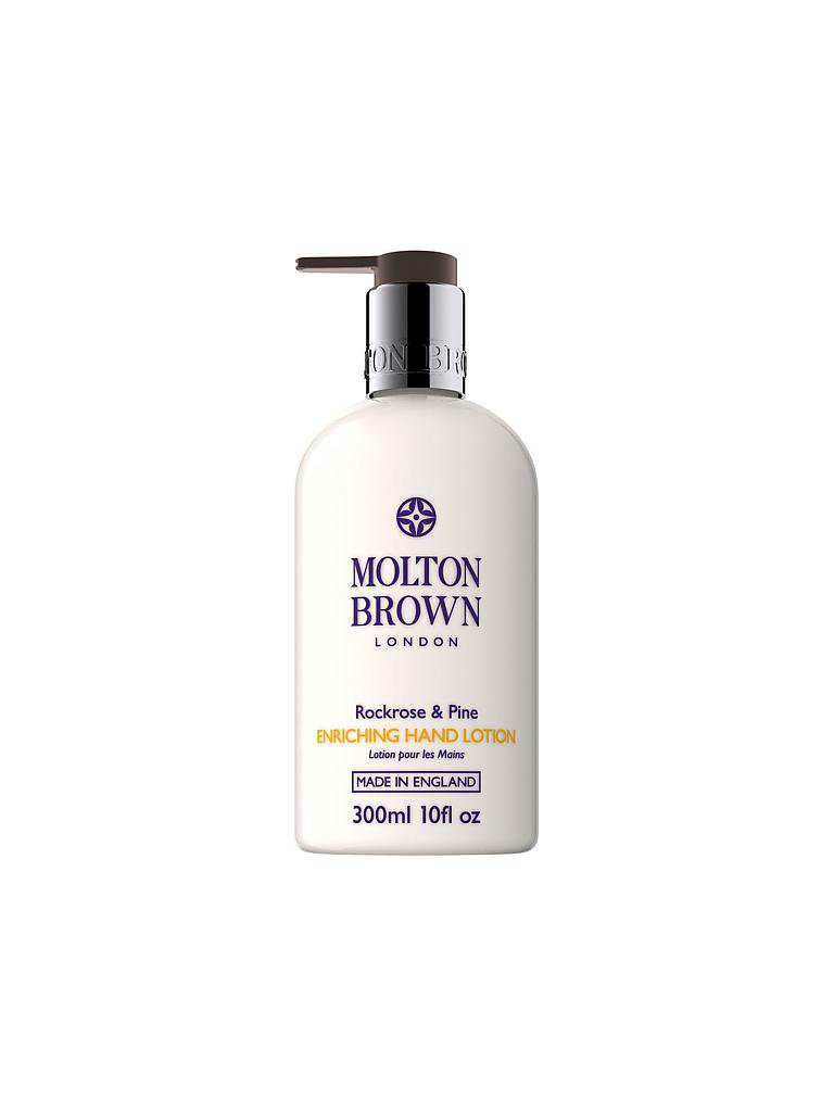 MOLTON BROWN | Rockrose & Pine Hand Lotion 300ml | transparent