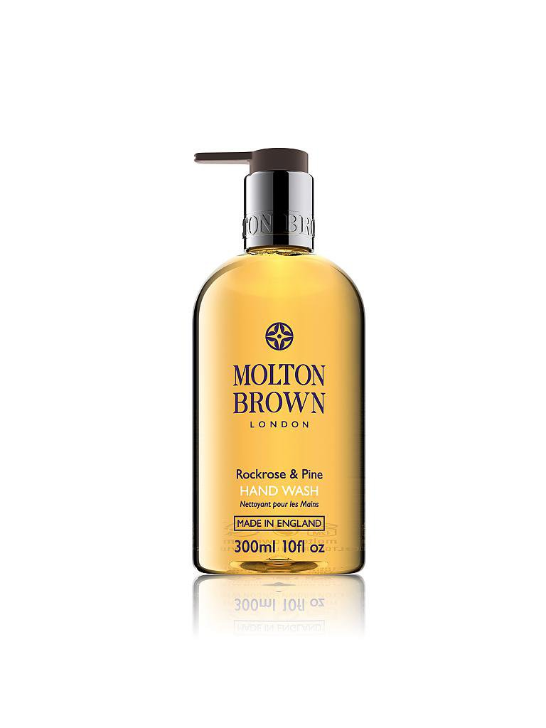 MOLTON BROWN | Rockrose and Pine Hand Wash 300ml | transparent