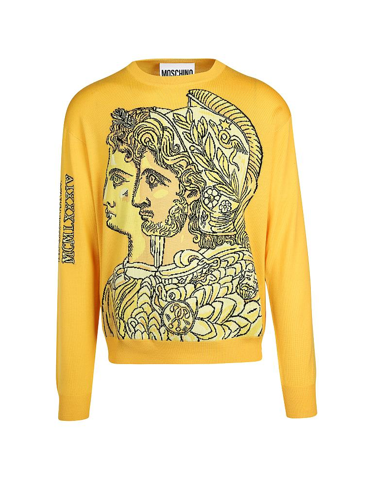 MOSCHINO | Pullover | gelb