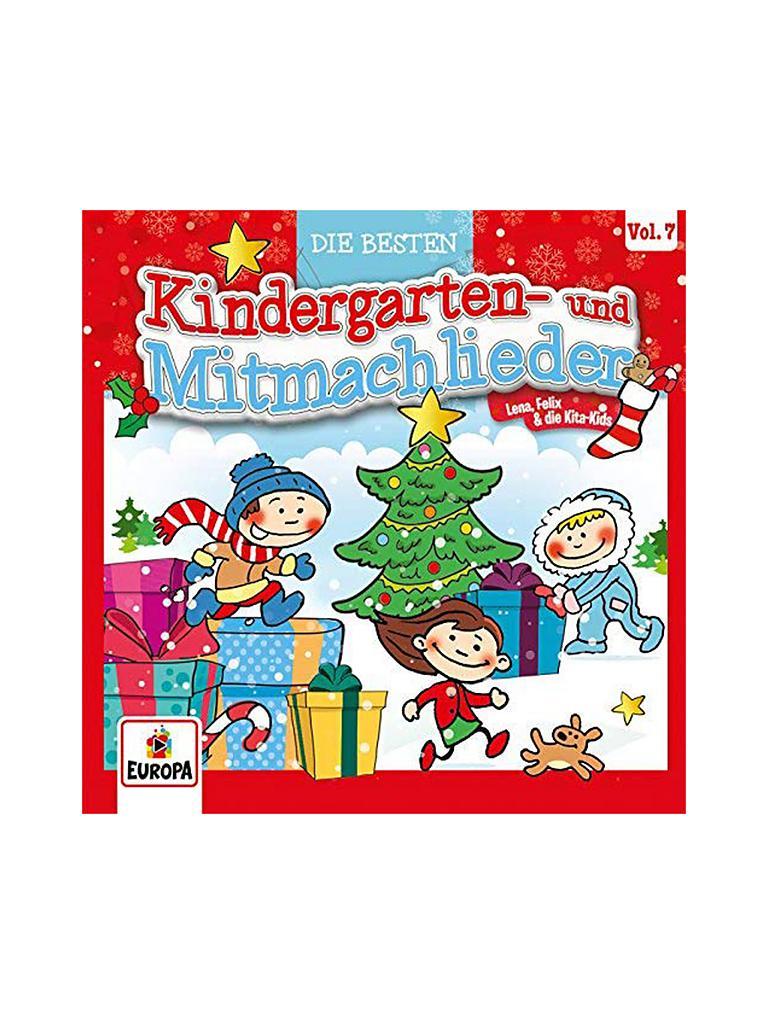 Kindergarten Weihnachten.Audio Cd Die Besten Kindergarten Und Mitmachlieder Weihnachten Vol 7