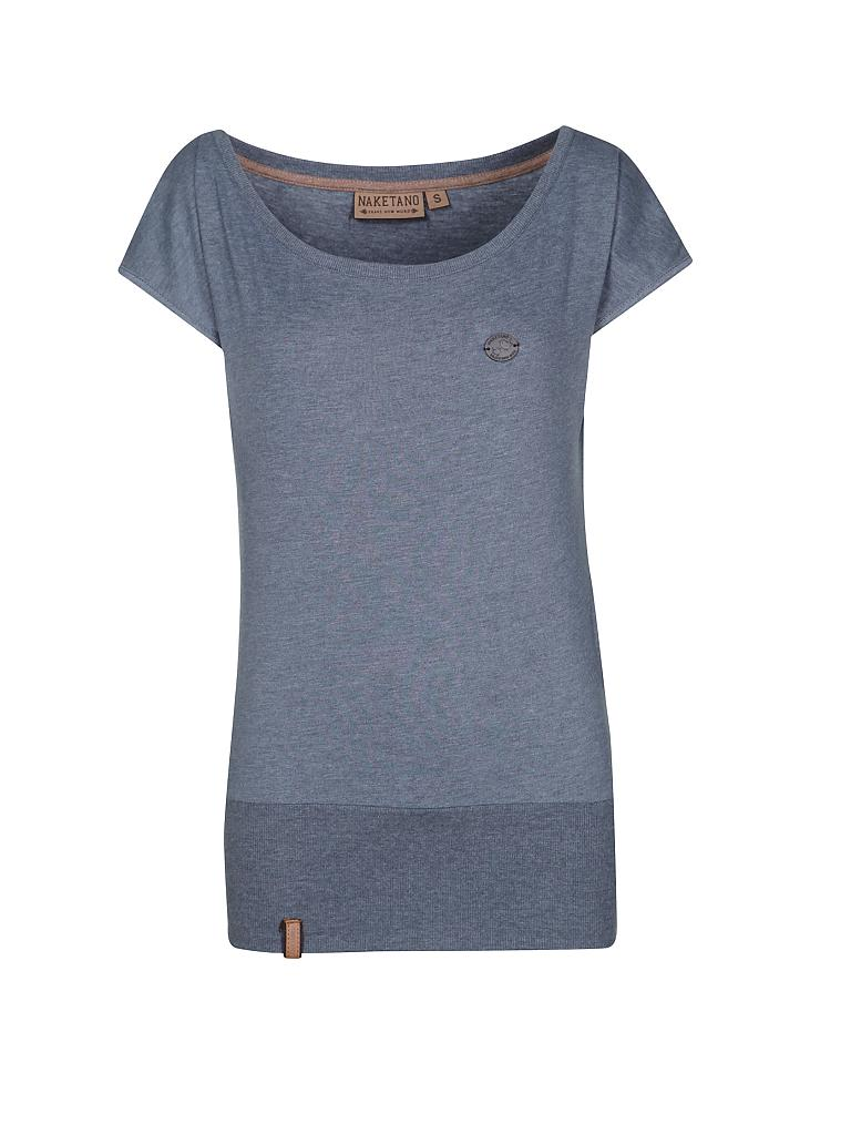naketano t shirt loose fit blau m. Black Bedroom Furniture Sets. Home Design Ideas